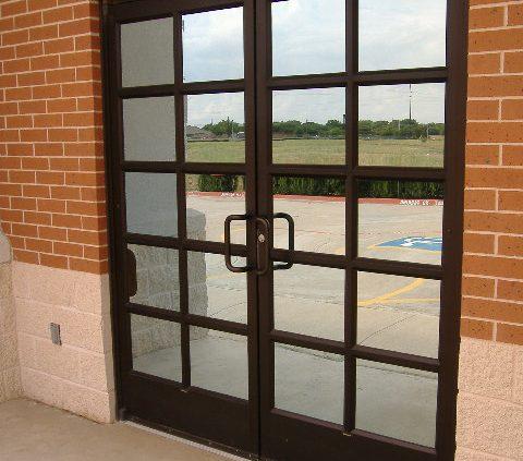Storefront Door Installation