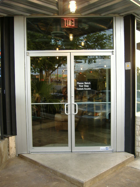 Storefront Door Installation