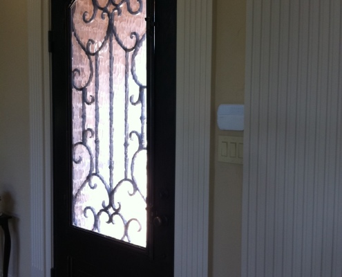 Specialty Iron Door Installation